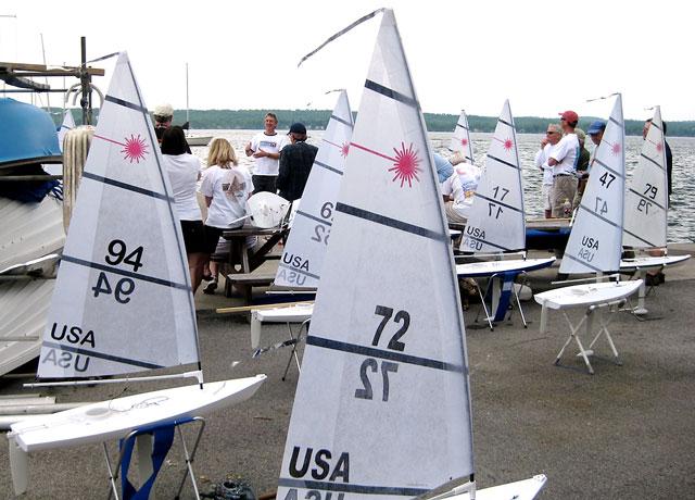 Squaw Island Race Photos Canandaigua Lake Rc Laser Sailing