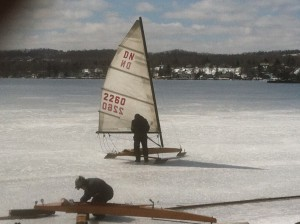 Canandaigua Lake in late March