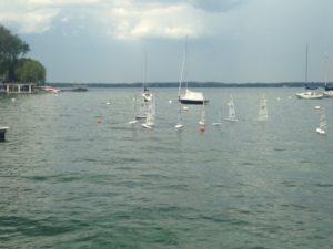 Canandaigua Lake RC Laser Sailing | Radio Control Sailing in